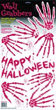 Picture of Skeleton Hand Prints Wall Grabbers