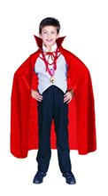 Picture of Cape Red Child Costume