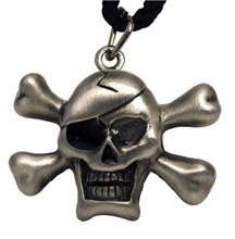 Picture of Flash Skull Necklace
