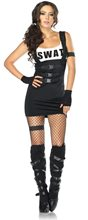 Picture of Sultry SWAT Officer Adult Womens Costume