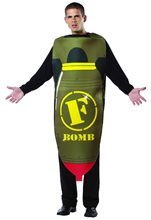 Picture of F Bomb Adult Mens Costume