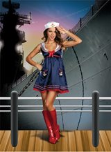 Picture of Deluxe Sailor Mine Beauty Adult Women Costume