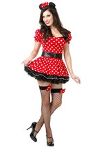 Picture of Miss Mouse Pin-Up Adult Womens Costume