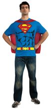 Picture of Superman T-Shirt Adult Mens Costume