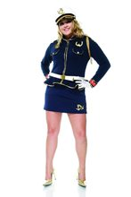 Picture of Cutie Cadet Sailor Plus Size Adult Womens Costume