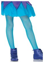 Picture of Neon Blue Child Fishnet Tights