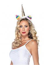 Picture of Rainbow Unicorn Headband
