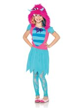 Picture of Growling Gabby Monster Child Girl Costume