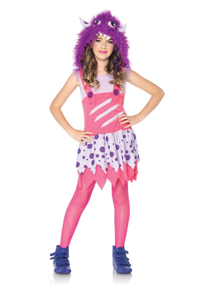 Picture of Furball Fergie Monster Child Girl Costume