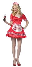 Picture of Coke Soda Girl Adult Women Sexy Costume