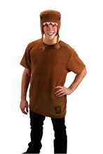 Picture of Brown Domo Adult Men Costume