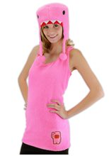 Picture of Pink Domo Adult Womens Costume