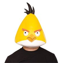 Picture of Angry Birds Yellow Bird Latex Adult Mask