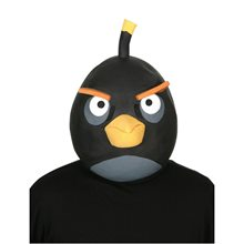 Picture of Angry Birds Black Bird Adult Mask