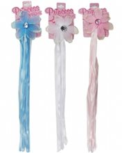 Picture of Princess Ponytail Flower with Ribbon
