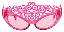 Picture of Pink Glitter Princess Tiara Sunglasses