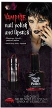 Picture of Black Lipstick And Nail Polish Kit