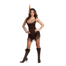 Picture of Pocahottie Sexy Adult Womens Costume