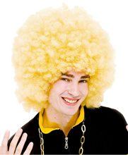 Picture of Blonde Extreme Afro Unisex Wig