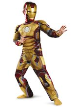 Picture of Marvel Iron Man Mark 42 Classic Muscle Child Costume