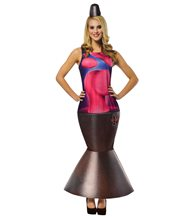 Picture of Lava Lamp Adult Womens Costume