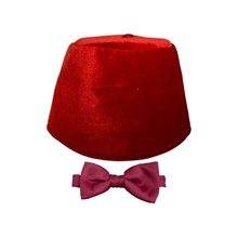 Picture of Doctor Who Fez & Bow Tie Kit