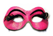 Picture of Cabaret Hot Pink Adult Mask