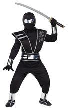 Picture of Silver Mirror Ninja Child Costume