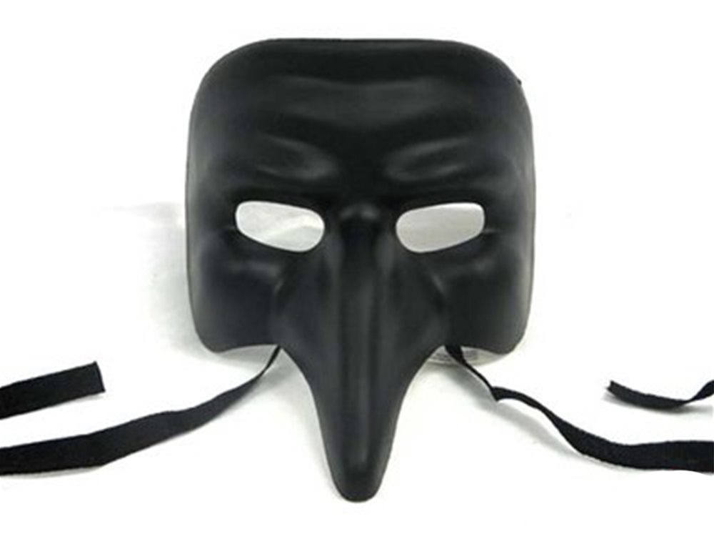 Long Nose Venetian Mask for Masquerade Fairytale Photo booth Fancy Dress