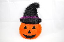 Picture of Pumpkin With Hat Decoration
