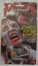 Picture of Zombie Teeth Paint & Blood Kit