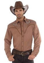Picture of Western Deluxe Mens Cowboy Shirt