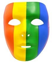 Picture of Full Face Rainbow Mask