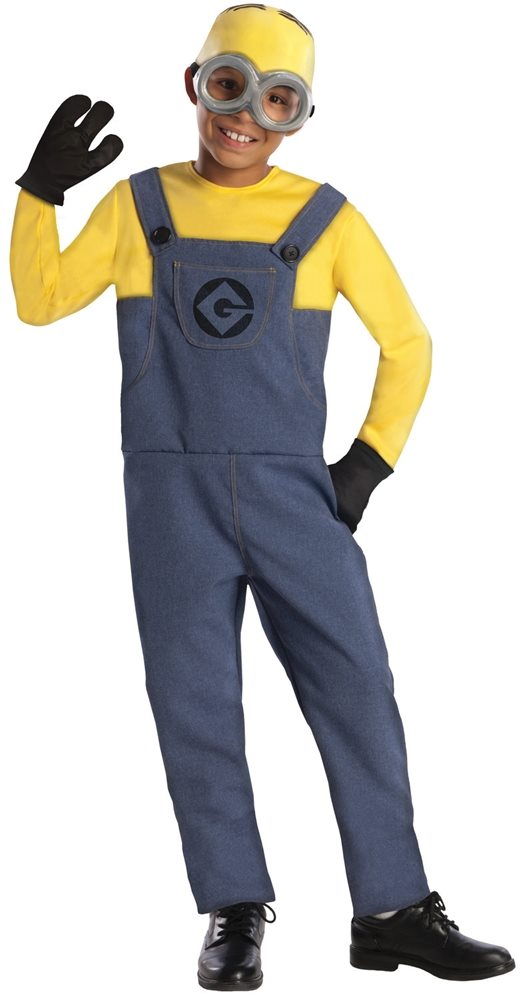 Picture of Despicable Me 2 Minion Dave Child Costume