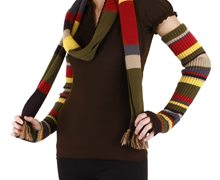 Picture of Doctor Who 4th Doctor Arm Warmers