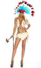 Picture of Indian Tribal Tease Adult Womens Costume