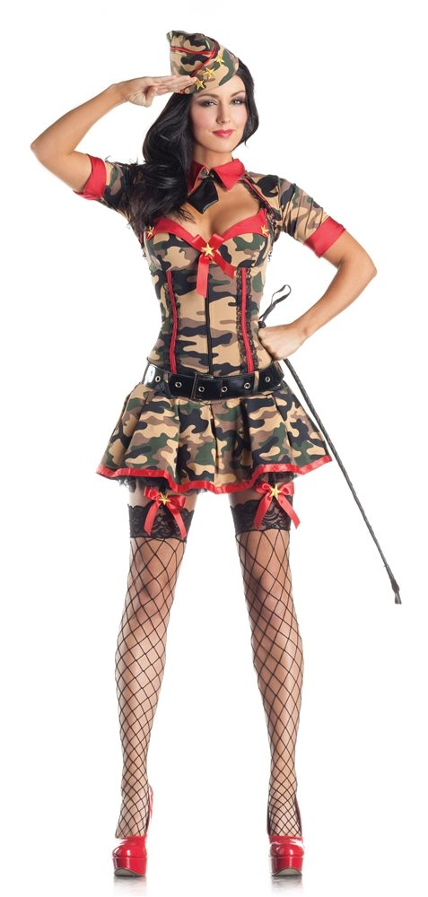 Picture of Army Brat Adult Womens Costume