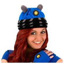 Picture of Doctor Who Dalek Blue Beanie