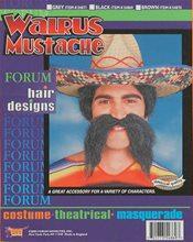 Picture of Black Walrus Moustache