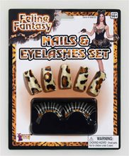 Picture of Feline Fantasy Nails & Eyelashes Kit