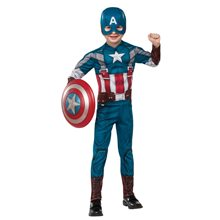 Picture of Captain America EVA Retro Suit Child Costume