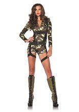 Picture of Goin' Commando Camo Adult Womens Costume