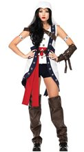 Picture of Assassin's Creed Connor Girl Adult Womens Costume