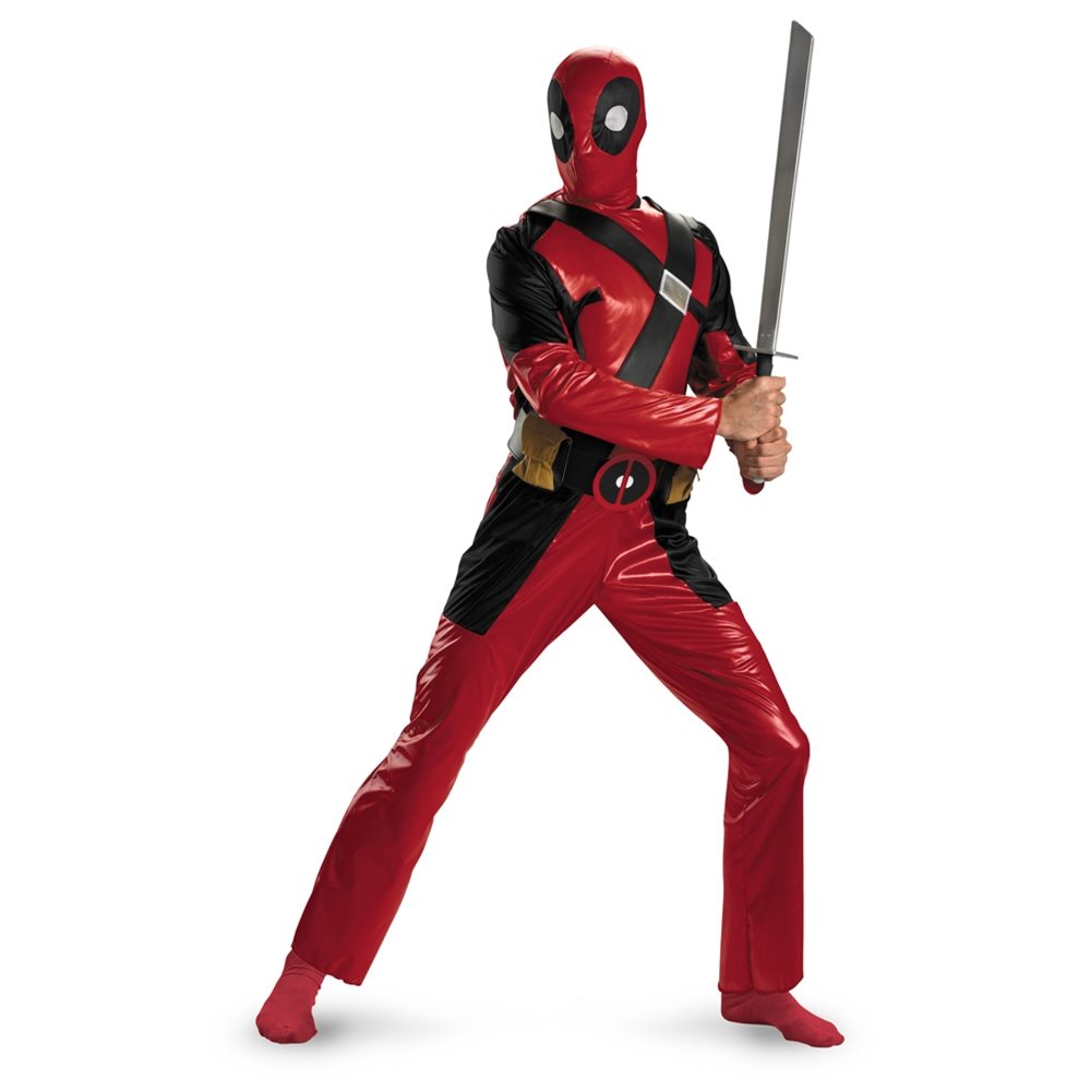Picture of Deadpool Adult Mens Costume