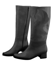Picture of Black Go Go Adult Womens Boots