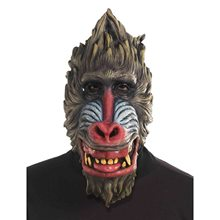 Picture of Baboon Latex Mask