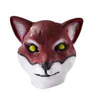 Picture of Red Fox Latex Mask