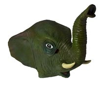 Picture of Elephant Deluxe Latex Mask