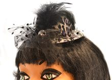 Picture of Leopard Print Clip-On Mini Hat (More Colors)