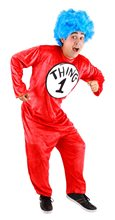 Picture of Dr. Seuss Thing 1&2 Classic Adult Unisex Costume